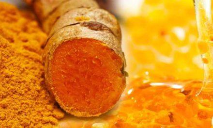 Curcuma e miele: antibiotico naturale