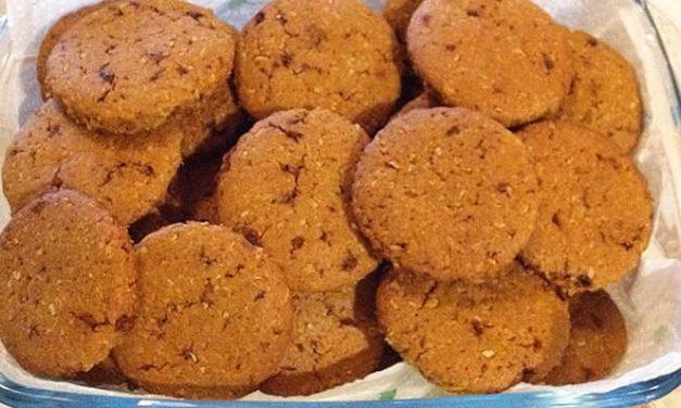 Biscotti integrali al farro e cocco