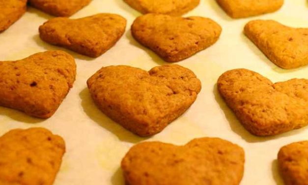 Biscotti vegani di farro con curcuma e cannella