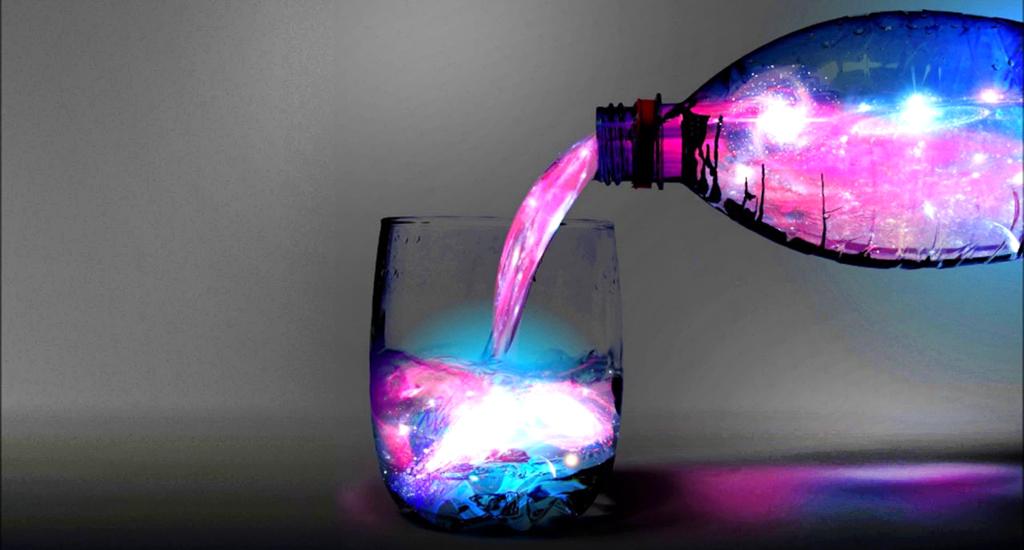 Acqua blu solarizzata, per guarire corpo e anima