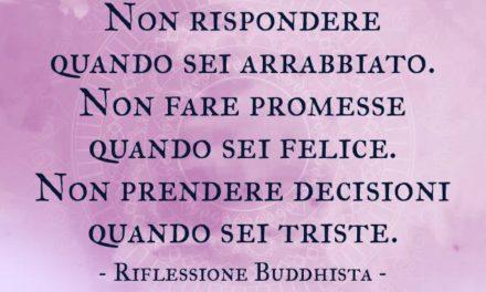 Riflessione Buddhista